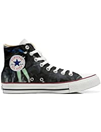 mys Converse All Star Customized, Sneaker Unisex, printed Italian style Sexy Dark