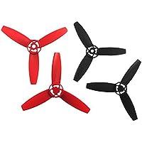 Parrot Bebop - Hélices drone, color rojo y negro (PF070078)