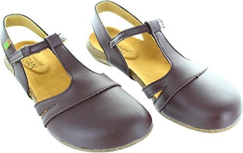 El Naturalista Wakataua N5062 Brown Damen Damen Sommerschuhe in Mittel VEGANO BROWN