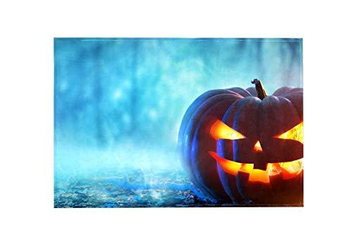 Wdskbg Halloween Large Area Rugs,Dirty Children's Carpets for Living Roooms,Bedrooms,Children's Doormats 152x99cm/5'x3'