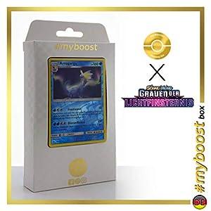 Amagarga (Aurorus) 28/131 Holo Reverse - #myboost X Sonne & Mond 6 Grauen Der Lichtfinsternis - Box de 10 Cartas Pokémon Aleman