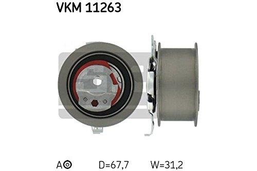 Preisvergleich Produktbild SKF VKM 11263 Spannrolle, Zahnriemen