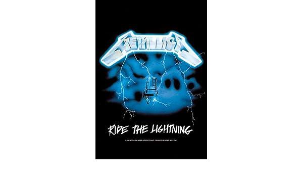 .and Justice for All Musik Posterflaggen Fahne Gr/össe 75x110 cm empireposter Metallica
