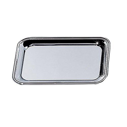6 X 9 Nickel Plated Rectangular Cash Tray by Elegance Silver -