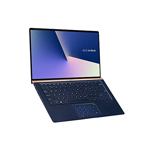 ASUS ZenBook 13 UX333FN (90NB0JW3-M01220) 33,7 cm (13,3 Zoll Full-HD) Ultrabook (Intel Core i7-8565U, 16GB RAM, 256GB SSD, NVIDIA MX150 (2GB), Windows 10 Home) Royal Blue