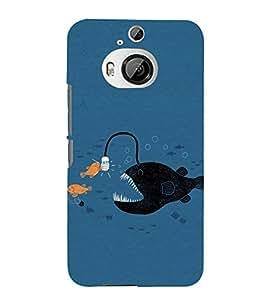 EPICCASE Eco-friendly fish Mobile Back Case Cover For HTC One M9 Plus (Designer Case)