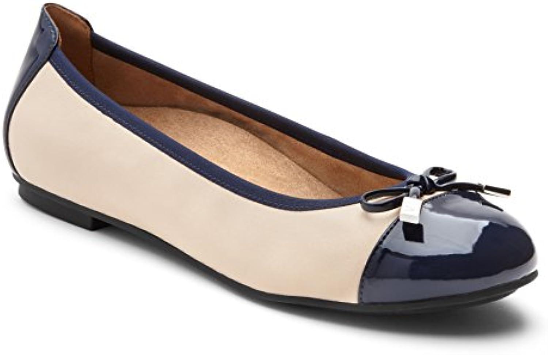 Gentiluomo   Signora Vionic, Flat Donna caratteristica Classificato per primo nella sua classe slittata | Eccellente qualità  | Uomo/Donna Scarpa