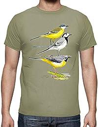 168b196e7 latostadora - Camiseta Lavanderas Blanca Chico para Hombre