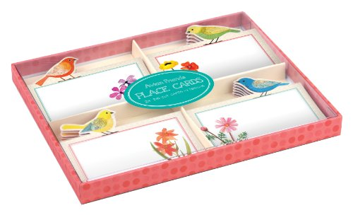 Avian Friends Party Place Cards