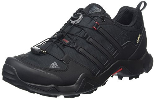 adidas - Terrex Swift R GTX, Scarpe da escursionismo Uomo, Nero (Color Core Black/Dark Grey/Power Red), 43 1/3 EU