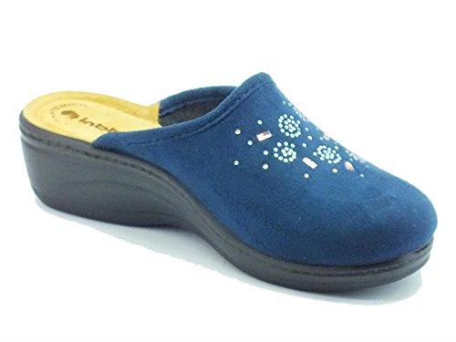 INBLU  Ly-34 Blu, Chaussons pour femme Bleu