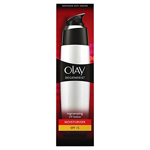 Olay Regenerist Rehydrating Lotion UV Schutz SPF 15 (75 ml) - Packung mit 6 (Lavendel-uv-schutz-creme)