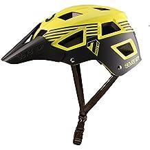 Seven M5 Casco de Bicicleta de montaña Mixta, M5, Amarillo/Negro