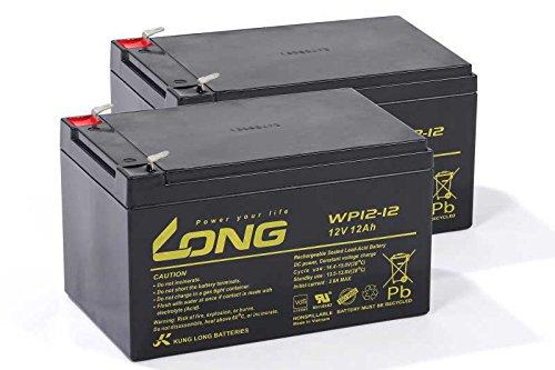USV Akkusatz kompatibel APC Smart UPS SU1000RMNET RBC6 RBC 6 AGM Blei...