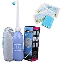 Hibbent Portable bidet y viaje Bidé con la mano Held Bidet Botella para uso Personal Limpieza Botella spray portátil para limpieza del baño