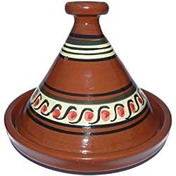 Tajine marroquí para cocinar Ø 35 cm para 3-5 personas