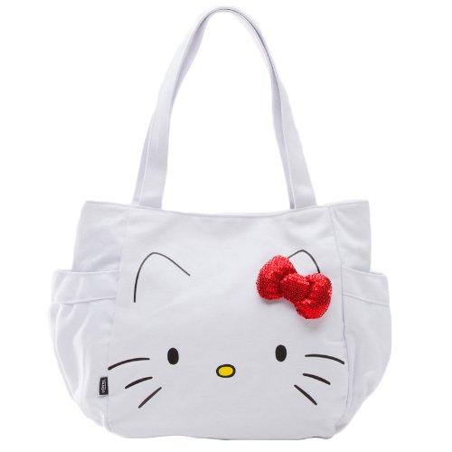Image of Vans G Glitter Hello Kitt Women's Bag, (Hello Kitty) T, One Size, VURO8AP