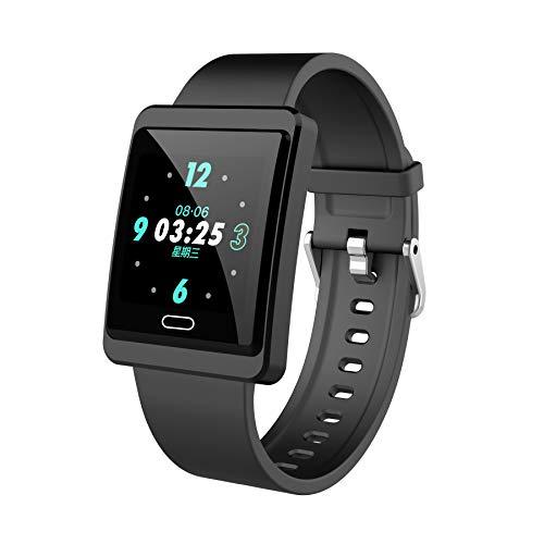 Smartwatch, 1,33 Zoll Fitness Armband mit Herzfrequenz, Blutdruck und Schlaf Überwachung, IP68 Wasserdicht Fitness Tracker, Herren Damen Smartwatch für IOS Android