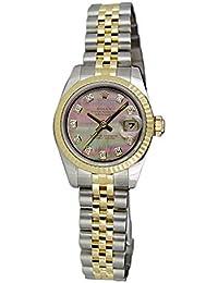 Rolex Datejust 179173 - Reloj de Pulsera Hembra automático, diseño con Certificado de autenticidad