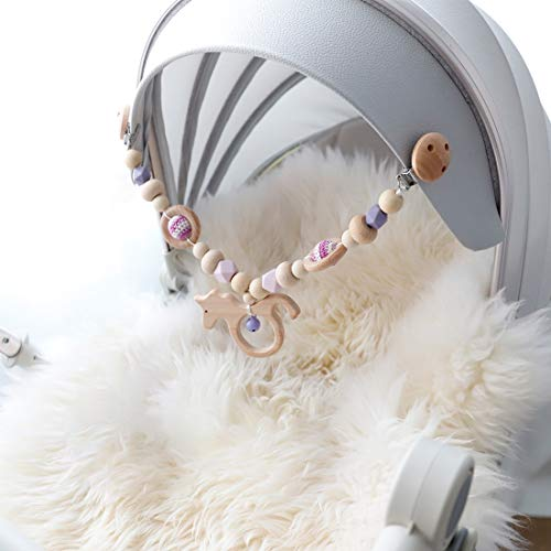 Mamimami Home 1pc Singen Sie Ring Baby Arch Pram Krippe Aktivität Holz Tier Schnuller Handgemachte Sensorische Kinderkrankheiten Spielzeug