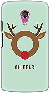 moto g2 back case cover ,Oh Dear Designer moto g2 hard back case cover. Slim light weight polycarbonate case with [ 3 Years WARRANTY ] Protects from scratch and Bumps & Drops.