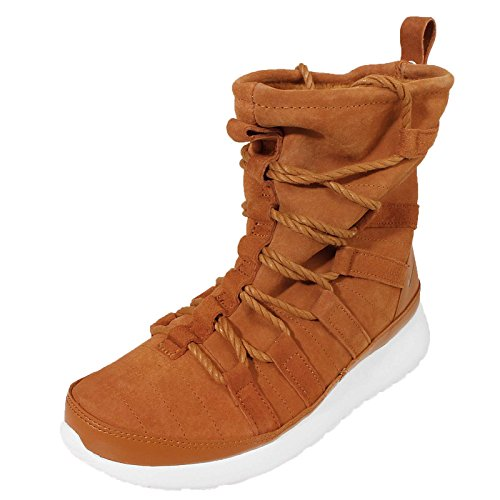 NIKE Roshe One Hi Suede Baskets Chaussures d'hiver chaussures pour femme 200 TAWNY/LOTUS-SAIL