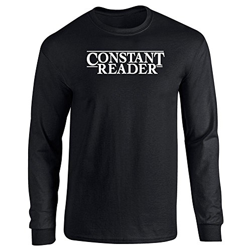 Pop Threads Constant Reader Long Sleeve T-Shirt by