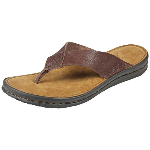 Woodland Men's 1393114 Series Brown Leather Casual Slipper 44 EU  available at amazon for Rs.1951