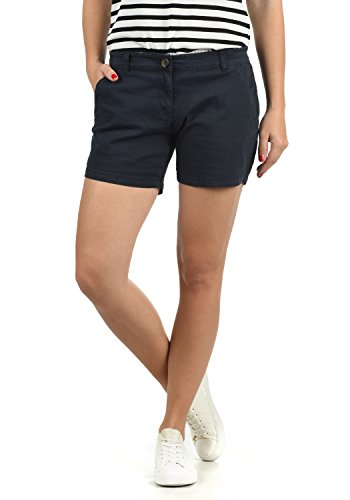 DESIRES Kathy Damen Chino Shorts Bermuda Kurze Hose Aus Stretch-Material Skinny Fit, Größe:38, Farbe:Insignia Blue (1991) - Sommer-hitzewelle
