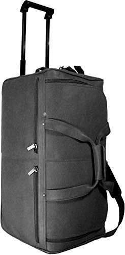 david-king-co-20-inch-rolling-duffel-black-one-size