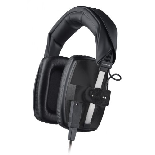beyerdynamic DT 100 Studio-Kopfhörer (400 Ohm, geschlossen, mit Kabel K 100.07, Stereo-Klinke 3,5 mm/Adapter 6,35 mm) schwarz thumbnail