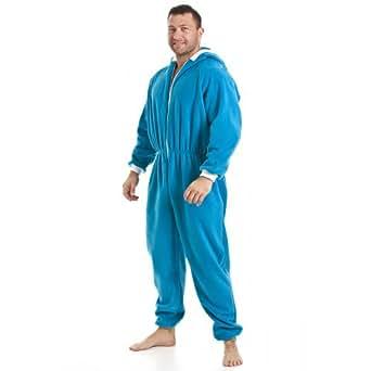combinaison pyjama capuche en polaire d tail poches. Black Bedroom Furniture Sets. Home Design Ideas