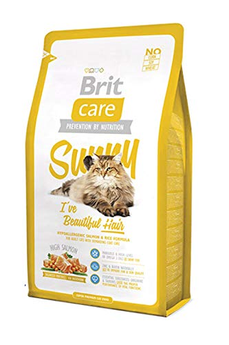 Brit Care Cat Sunny I've Beautiful Hair Croquette pour Chat Adulte 7 kg