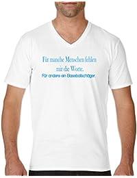 Comedy Shirts Nicht perfekt Aber einzigartig! Krone Kurzarm Top Basic Print-Shirt V-Ausschnitt 100/% Baumwolle Damen V-Neck
