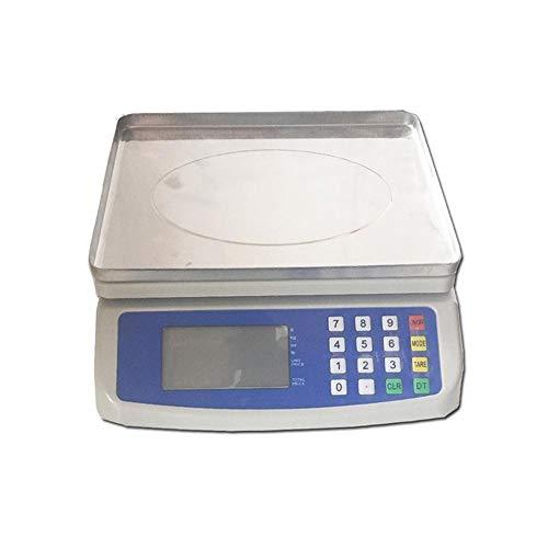 XOSHX 30Kg elektronische Digitale Preisskala mit Preisfunktion Elektronische Küchenwaage