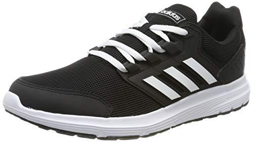 adidas Herren Galaxy 4 Laufschuhe, Schwarz (Core Black/Footwear White/Core Black 0), 46 EU