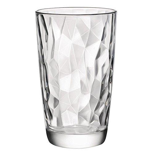 Bormioli Rocco Diamond Transparent Longdrinkglas 470ml, transparent, 6 Stück