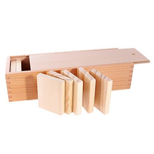 Sharplace Montessori Tablero de Entrenamiento de Peso Juguete de Desarrollo de Niño