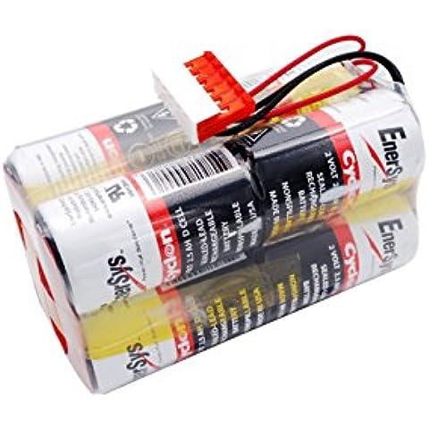 Cameron Sino 2500mAh/40wh batteria di ricambio per METRONIC Lifepak