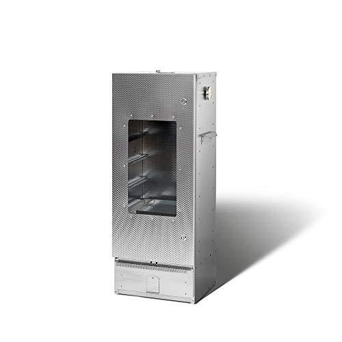 SMOKI - Räuchertechnik Seule Chambre Fumeur 100x39x33cm avec Un Disque d'acier aluminisé