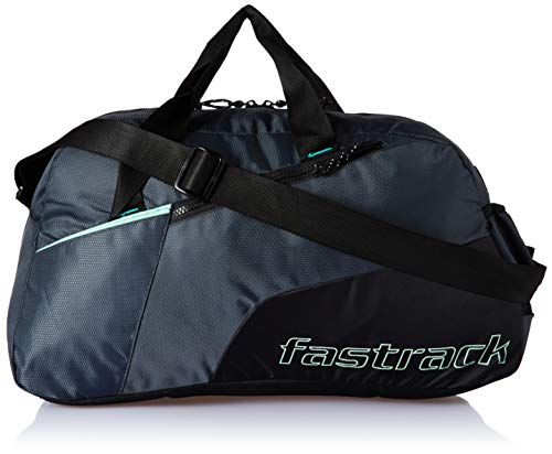 Fastrack Polyester 17 inches Black Travel Duffle (A0721NBK01)