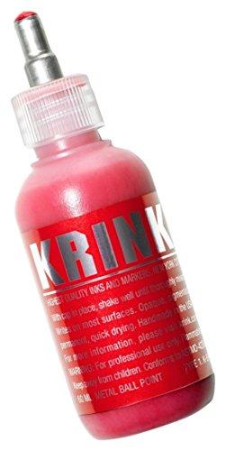 Krink k-66Marker peinture-pointe in acier-rouge-60ml - Krink Marker