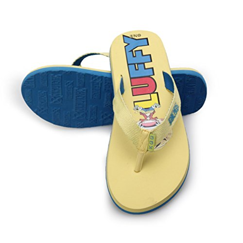 Bromeo One Piece Anime Unisexe Flip Flops Tongs 31