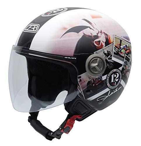NZI 050332G909 Helix IV Angel Grandson 12 + 1 Ran, Motorcycle Helmet, Size 58-59 (L)