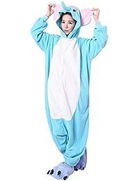 iKneu Unisexe Kigurumi Pyjamas Ensemble De Costume Cosplay Animaux Pyjamas pour Halloween Noel