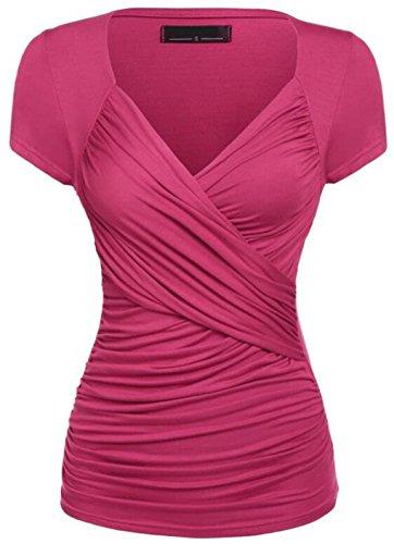 lemongirl-women-v-neck-short-sleeve-slim-blouse-shirt-tops