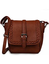 Leffis Designer Lightweight Women And Girl's Mini Cross Body Sling Bag