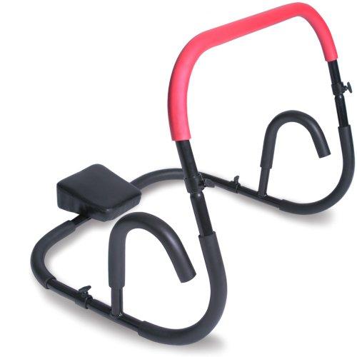Bauchtrainer / Bauchmuskeltrainer Fitnessgerät für Sit-Ups in rot