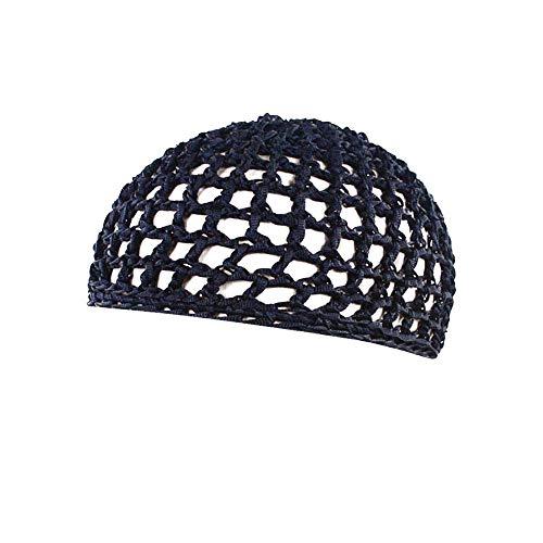 SEWORLD Frauen Schlafmütze Handgemachte Gehäkelte Haarnetz Taschennetz Gelockte Hand Häkelarbeit...