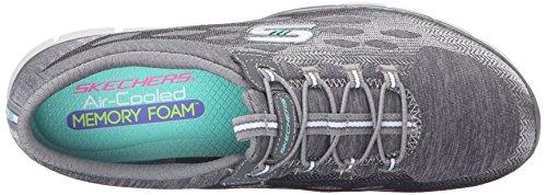 Skechers Femme Gratis-Blissfully Chaussure Décontractée gris/blanc